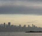 The reference image, a Vancouver sunrise photo